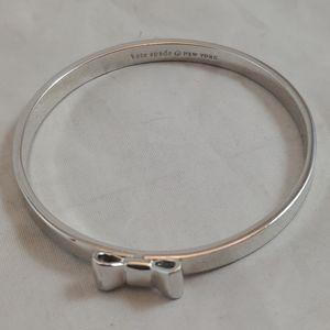 kate spade New York Bow Bangle Bracelet